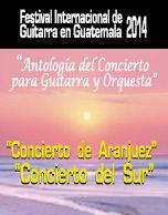 Festival Internacional de Guitarra en Guatemala 2014
