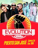 Gallo Evolution 2017 Puerto San Jose - Paquete