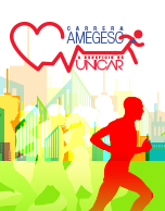 Carrera AMEGESO a beneficio de UNICAR 2015