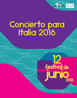 Concierto para Italia 2016