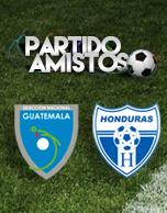 Partido Amistoso entre Selección Nacional de Guatemala vrs Selección Nacional de Honduras 2016