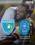 Eliminatoria Mundial Rusia 2018 - Selección Guatemala vrs Selección San Vicente