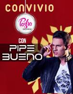 Convivio Pasha Discotheque con Pipe Bueno 2015