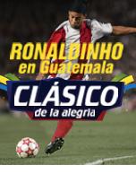 Ronaldinho en Guatemala 2016
