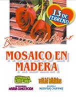 Baile del Amor Mosaico en Madera 2016