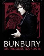 Bunbury Mutaciones Tour 2016
