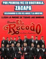 Banda El Recodo de Cruz Lizárraga Zacapa 2016