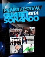 "Primer Festival ""Guate está Sonando"" 2015."