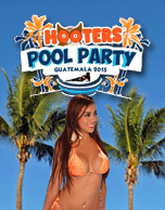 Hooters Pool Party 2015