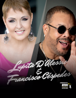 Lupita D´alessio y Francisco Céspedes
