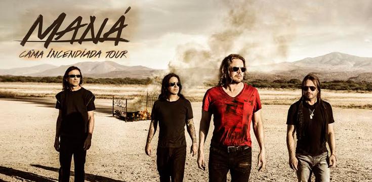Maná Cama Incendiada Tour 2015