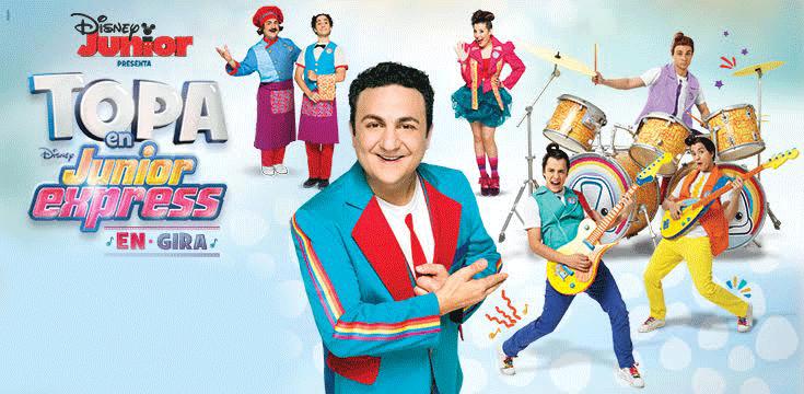 Topa en Disney Junior Express Guatemala 4 Función 2016