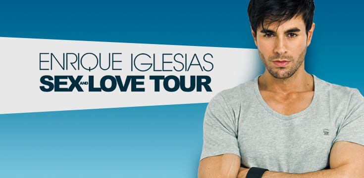 Enrique Iglesias Sex And Love Tour 2015