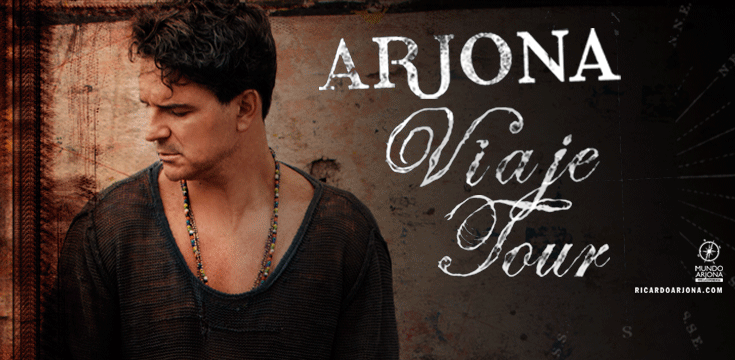 Ricardo Arjona Viaje Tour 2015