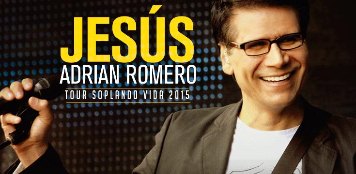 Jesús Adrian Romero Tour Soplando Vida 2015
